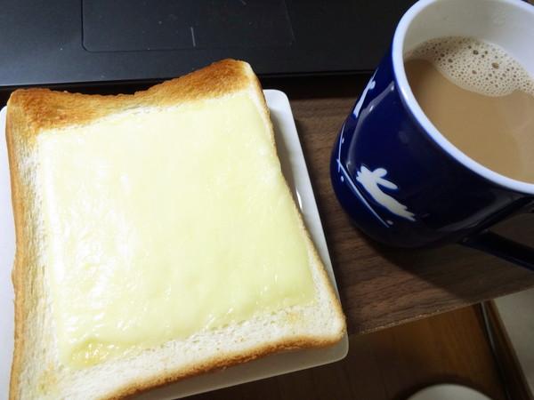 ダイエット前の朝食