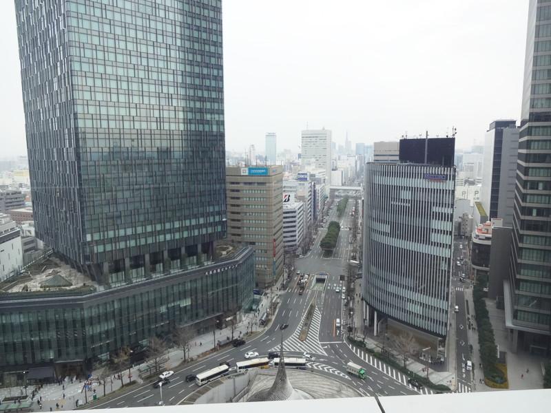 名古屋マリオネットアソシアホテル15階景色