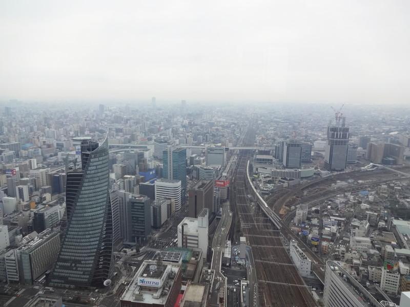 名古屋マリオネットアソシアホテル52階展望