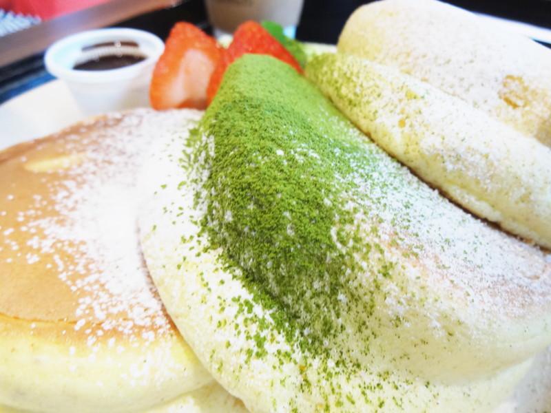 抹茶の和風ティラミスパンケーキ
