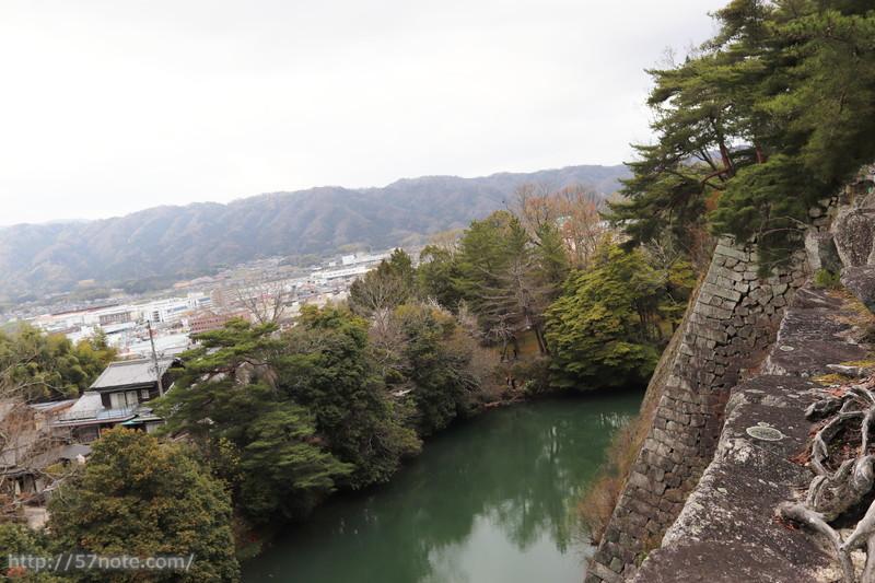 これが日本一のお堀!