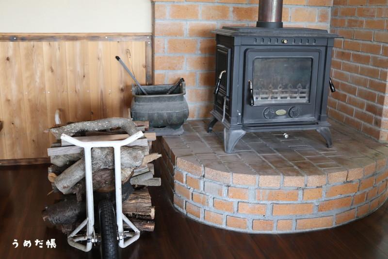 素敵な暖炉!