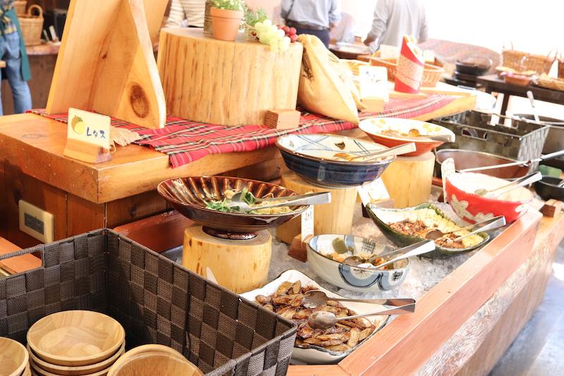 和食や洋食デザートなど色々あります。